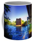 Deschutes Bridge  Anderson Ca  Watercolor   Coffee Mug