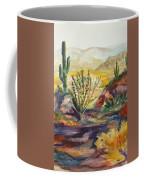 Desert Color Coffee Mug