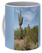 Desert Landscape With Saguaro Coffee Mug