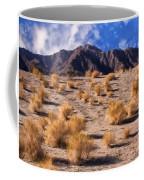 Desert Light And Shadow Coffee Mug