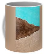 Desert Mountains Original Painting Coffee Mug