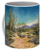 Desert Scene Near Carefree Coffee Mug
