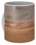 Great Sand Dunes Approaching Storm Coffee Mug