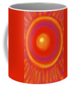 Desert Sunburst Coffee Mug by Daina White