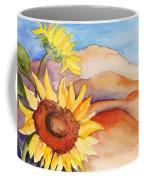 Desert Sunflower Coffee Mug