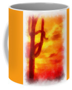 Desert Sunset Photo Art 01 Coffee Mug