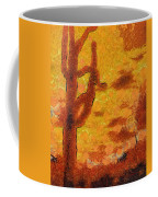 Desert Sunset Photo Art 04 Coffee Mug