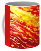 Desert Wind Abstract I Coffee Mug