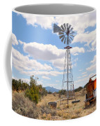Desert Windmill Coffee Mug