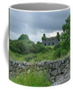 Deserted Building In Ireland Coffee Mug