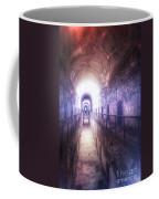 Deserted Prison Hallway Coffee Mug