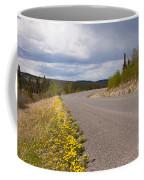 Deserted Rural Highway Yukon Territory Canada Coffee Mug