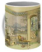 Design For A Bathroom, From Interieurs Coffee Mug