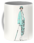 Design For A Day Dress C 1919 Coffee Mug