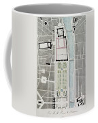 Design For Joining The Tuileries To The Louvre, 1808 Wc On Paper Coffee Mug