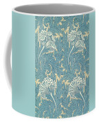 Design In Turquoise Coffee Mug