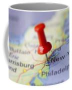 Destination To New York Coffee Mug