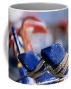 Detail From Fishing Boat Coffee Mug