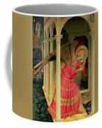Detail From The Annunciation Showing The Angel Gabriel Coffee Mug