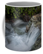 Detail Of A Small Water Fall In A Stream Coffee Mug