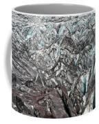 Detail Of Icelandic Glacier Coffee Mug