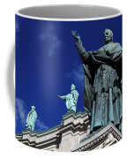 Detail Of Mary Queen Of The World Cathedral Coffee Mug