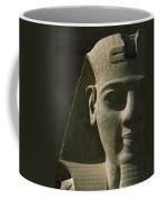 Detail Of Pharaoh Head At Entrance Coffee Mug