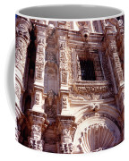Detail Of The National Cathedral Of Guatemala Coffee Mug