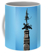 Detailed Images Of Statues In Almaty Coffee Mug