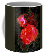 Detailed Roses Coffee Mug