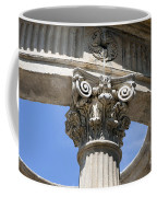 Detailed View Of Corinthian Order Column Coffee Mug