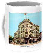 Detroit - The Brunswick Hotel - Grand Rive And Cass Avenues - 1900 Coffee Mug