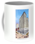 Detroit - The Lafayette Building - Michigan Avenue Lafayette And Shelby Streets - 1924 Coffee Mug