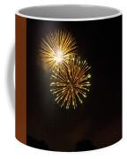 Detroit Area Fireworks -3 Coffee Mug