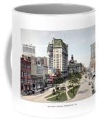Detroit - Cadillac Square - 1905 Coffee Mug