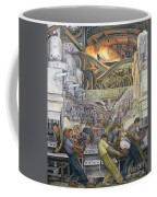 Detroit Industry  North Wall Coffee Mug by Diego Rivera