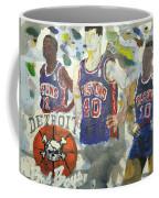 Detroit Pistons Bad Boys  Coffee Mug