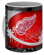 Detroit Red Wings Christmas Coffee Mug