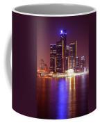 Detroit Skyline 5 Coffee Mug