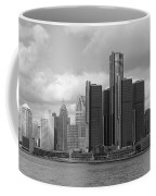 Detroit Skyscape Coffee Mug