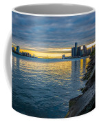 Detroit Sunset Coffee Mug