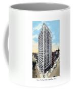 Detroit - The Kresge Building - West Adams Street - 1918 Coffee Mug