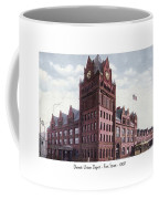 Detroit - Union Depot - Fort Street - 1907 Coffee Mug