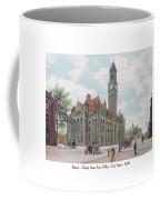 Detroit - United States Post Office - Fort Street - 1908 Coffee Mug