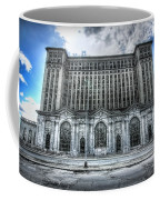 Detroit's Abandoned Michigan Central Train Station Depot Coffee Mug