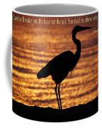 Deuteronomy 28 Verse 13 Coffee Mug