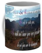 Deuteronomy 31 Verse 8 Coffee Mug