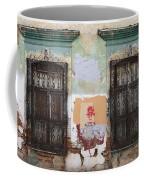 Devastated Wall With Windows Coffee Mug