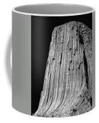 109851-bw-e-devil's Tower Bw 3 Coffee Mug