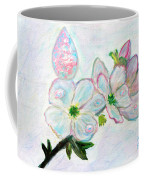 Dew And Smell Of Almond Flowers Coffee Mug